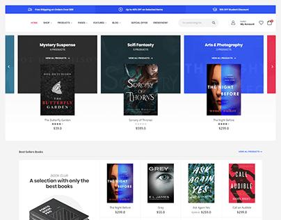 Book Store - WordPress