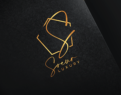 Branding logo Soeur LUXURY