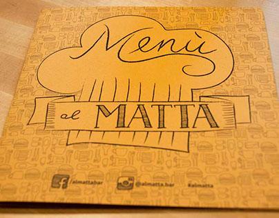 Al Matta - Bar visual identity