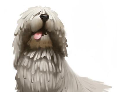 Dog caricatures!