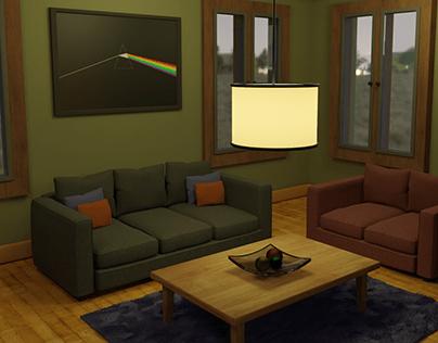 3D Room Scene