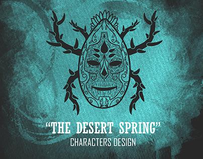"""The Desert Spring"" Characters Design"