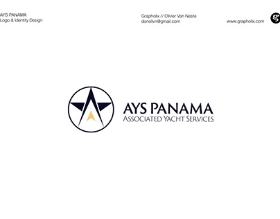 Logo and Identity Design for Yacht Agents