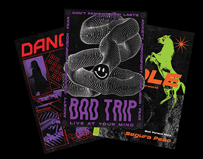 Rave-related posters