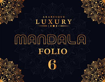 LUXURY Mandala Folio 6
