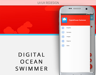 Digital Ocean Swimmer