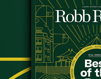 Robb Report Covers