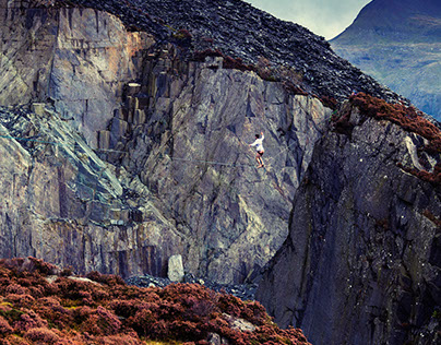 Highline in Wales
