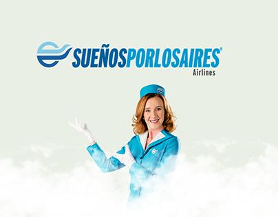 Sueños por los Aires, microsite.