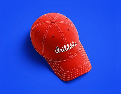 Freebie PSD: Baseball Cap 3D Mockup
