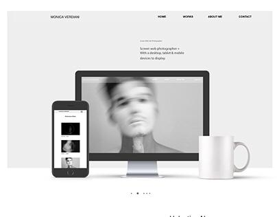 Web Site • for Photographer/Artist