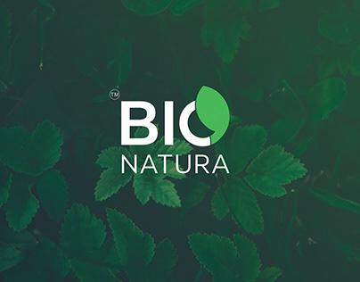 Bio Natura Logo Design