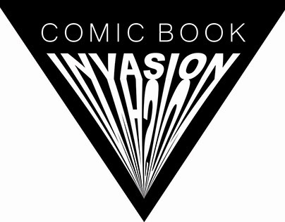 Comic Book Invasion- Package Design