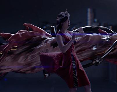 AKIRA - MA Digital Effects Master's Project