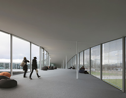 The Rolex Learning Centre, Switzerland, 2010