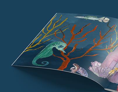 Book Illustration   The Little Mermaid