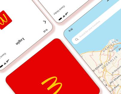 McDonald's App Case Study & Redesign