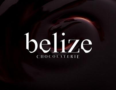 BELIZE chocolaterie brand design