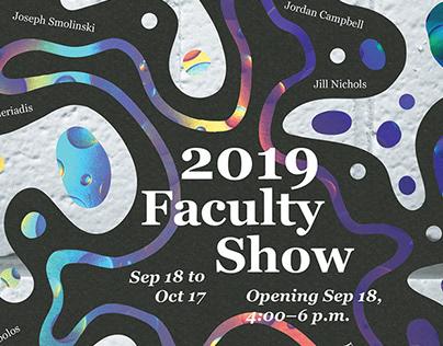2019 Faculty Show