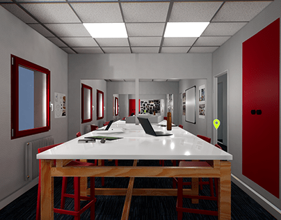 Edaic School Virtual Tour UE4