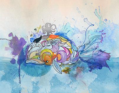 Ballenas En Espiral