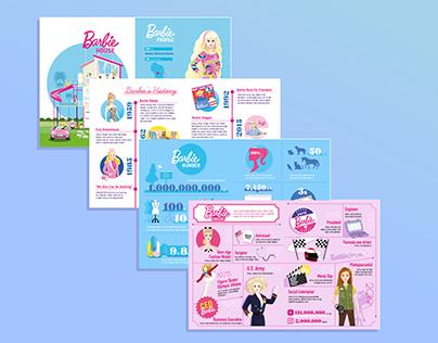 Inforgraphic for Barbie Dolls DIY Fancy Book