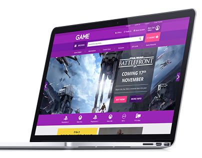 GAME.co.uk Website Concept