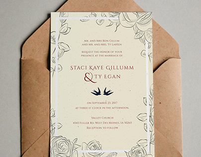 Edit Project Edit Project Wedding Invitation Design //