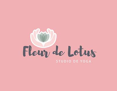 Logo - Fleur de lotus