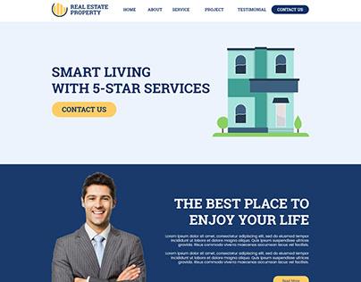 Real Estate Website Design