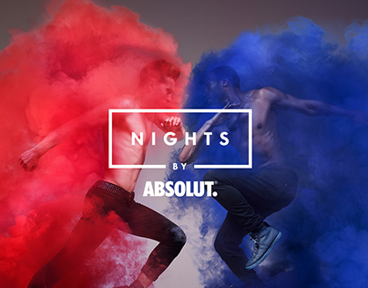 Nights by Absolut (global logotype design)