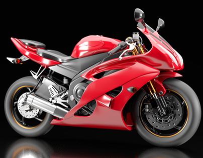 3D Motorbike _ free model