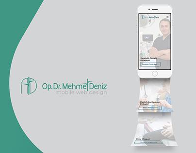 Op.Dr. Mehmet Deniz Mobile Website Design
