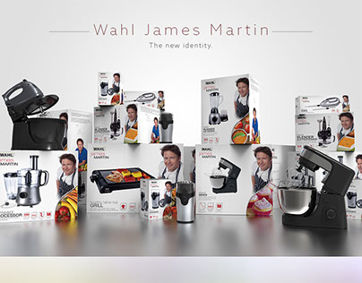 James Martin Packaging Design