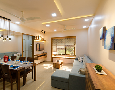 Apartment at Panvel, A.I.L by Prachi Pathare