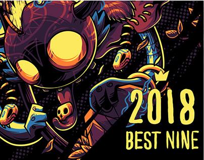 2018 Best Nine Artwork and Illustration