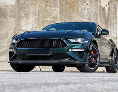 Car photography of Ford Mustang Bullitt