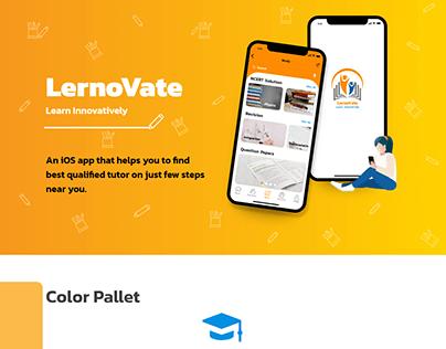 iOS Presentation: LernoVate (Tutor Finder)
