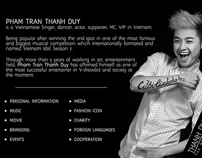 [2015] THANH DUY: the portfolio