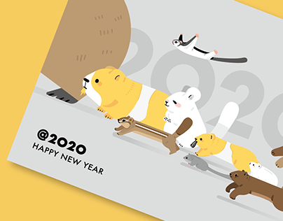 @2020 HAPPY MOUSE YEAR