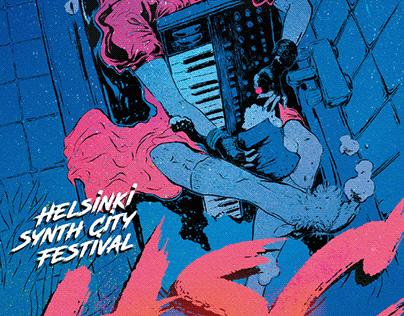 Helsinki Synth City Festival 2019