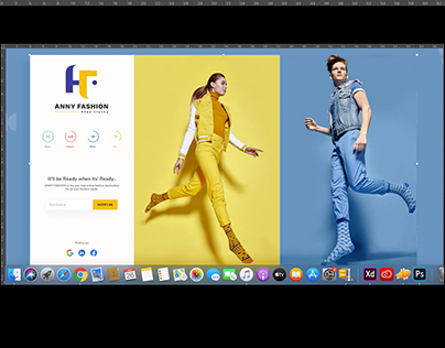 Anny_Fashion_Ecommerce_Landing Page