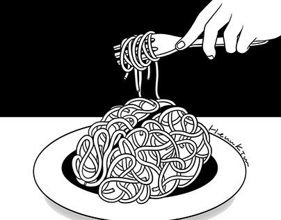 Eat Spaghetti To Forgetti Your Regretti