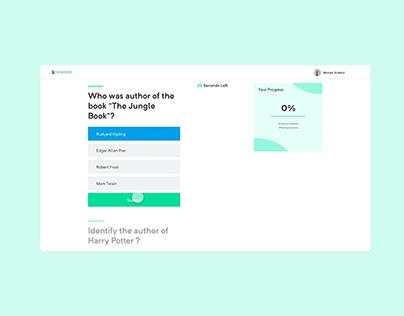 Test Assessment Web App Interaction