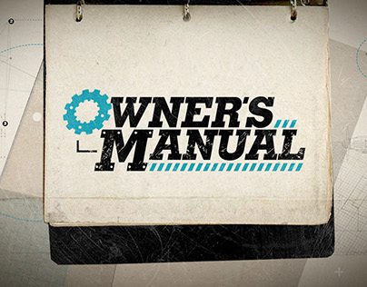Owners Manual Style Frames