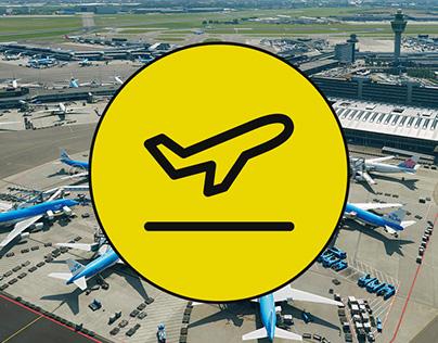 Schiphol Garantie (Airport & Train app)
