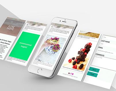 Kleine Shoppe Website