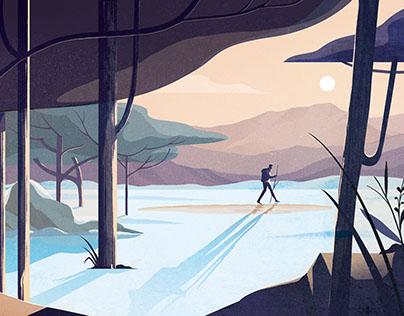 'Silence & Solitude' Adobe Create