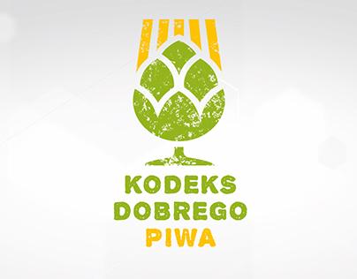 """Logo """"Kodeks Dobrego Piwa"""""""