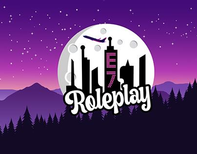 Logo for GTAV Roleplay server.